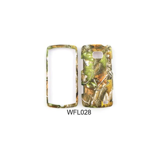 LG ALLY / US740 / Apex CAMO CAMOUFLAGE HUNTER Green Leaves   HARD PROTECTOR COVER CASE / SNAP ON PERFECT FIT CASE Cell Phones & Accessories
