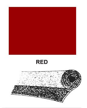 "R/T Automotive Velour Carpet/Carmine (Red) - One Linear Yard (40"" X 36"")"