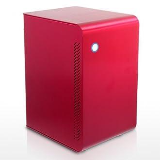 JONSBO U1-RD フルアルミ仕様mini-ITX用キューブ型ケース U1-RD