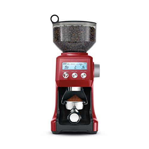 Breville BCG820BCRNXL The Smart Grinder Pro Coffee Bean Grinder, Cranberry Red (Coffee Bean Grinder Red compare prices)