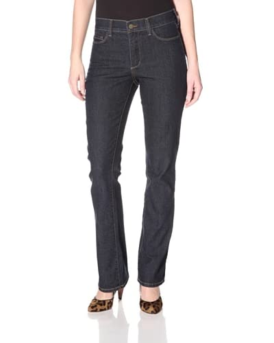 Not Your Daughter's Jeans Women's Barbara Modern Bootcut Jean with Pocket Embroidery  - Dark Enzyme