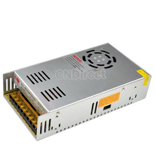 Finjo 12V/30A/360W Switch Power Supply Driver For Led Strip Light Display 220V/110V
