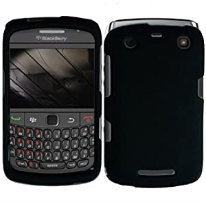 Amazon.com: BlackBerry Curve 9350 / 9360 / 9370 Charming Black Shell ...