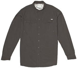 Columbia Men's Silver Ridge Long Sleeve Shirt - Grill, 1X