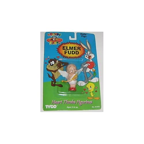 Elmer Fudd, Guardian Angel Action Figure   Looney Tunes Heart Throbs Figurines