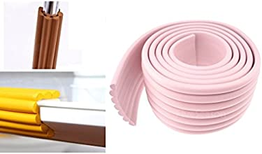 Child Home Safety Adhesive Table Desk Furniture Corner Edge Rail Bumper Guards Ridges Pink