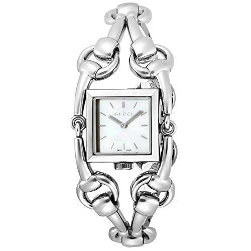 [グッチ]GUCCI 腕時計 シニョリーア ホワイトパール文字盤 YA116301 レディース 【並行輸入品】