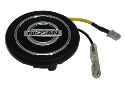 Nissan Steering Wheel Horn Button Crest for Nissan Infiniti Datsun Altima Maxima Sentra SE-R Spec-V Primera 200SX SER 240SX S13 S14 S15 300ZX 240Z 260Z 280Z 350Z 370Z X 380RS NX1600 NX2000 Z33 Fairlady Z Frontier Titan Murano Pathfinder Skyline GT-R R34 V-Spec R33 Skyline 400R S14 Silvia 270R Z-Tune JDM (Nissan 200sx Emblems compare prices)