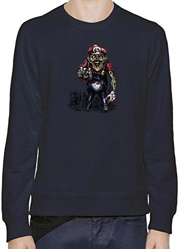 Super Mario Zombie Pullover Uomini Donne XX-Large