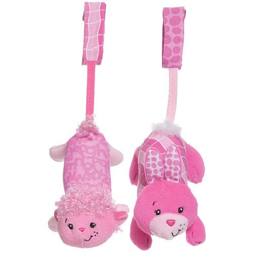 Infantino Tag Along Chimes - Pink front-1050903