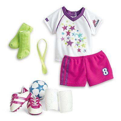 American Girl - Soccer Team Outfit for Dolls - MY AG 2015 by American Girl