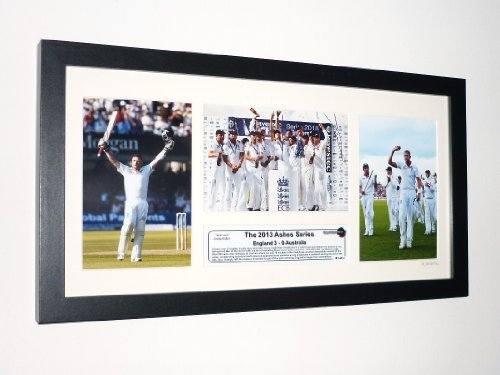 The 2013 Ashes England 3-0 Australia Victory Limited Edition Photographic Set /250