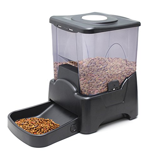 Oxgord automatic electronic timer programmable dog feeder for large to