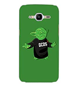 SAMSUNG GALAXY J2 2016 MONSTER Back Cover by PRINTSWAG