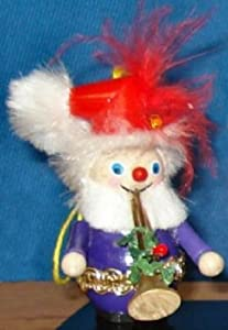 2012 Steinbach 12 Days Of Christmas Pipers Piping German Ornament
