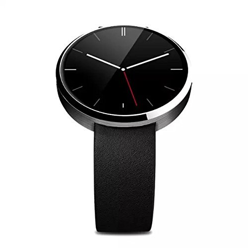 EFOSHM Gold Luxury Smart Watch Upgrated S8 Sports Fitness Smartwatch for iOS and Andriod Smart Phones and Tablets (Black Silver)