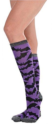 Halloween Bat Socks