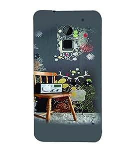 PrintVisa Music Vintage Player 3D Hard Polycarbonate Designer Back Case Cover for HTC One Max
