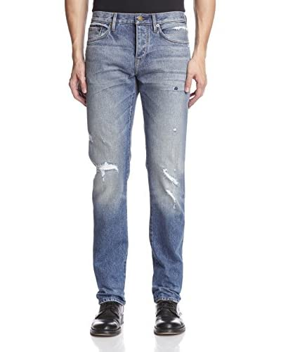 Burberry Men's Distressed Jeans