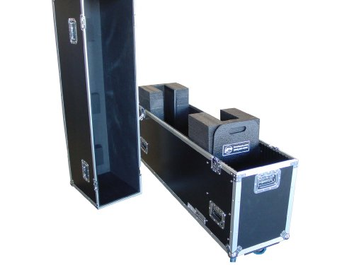 """Universal Fit Case For 42"""" Plasma Screen W/ Casters"""