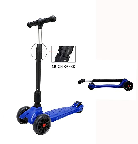 best-buy-box-3-wheel-folding-kick-scooter-with-led-light-up-pu-wheelsafe-roll-balancesmooth-fast-rid