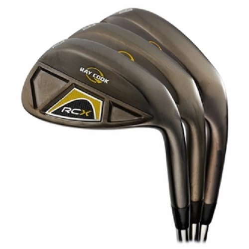 Ray Cook Golf RCX Black Nickel 3-Wedge Set 52/56/60 (Ray Cook Wedge compare prices)