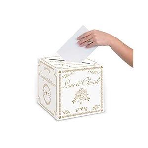 Beistle 54391 Wedding Card Box, 9-Inch by 9-Inch