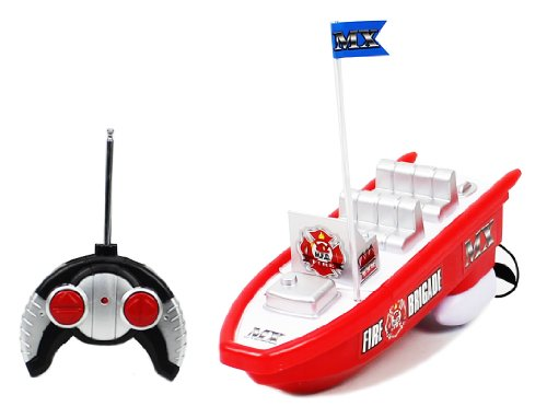 MX Championship Fire Brigade Electric RTR RC Boat Full Function Good Quality Remote Control Boat
