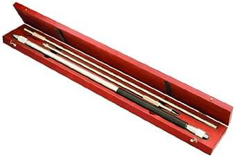 "Starrett 121BZ Long Range Tubular Vernier Inside Micrometer Set, 32-82"" Range, 0.001"" Graduation, +0.0004""/-0.0000"" Accuracy"