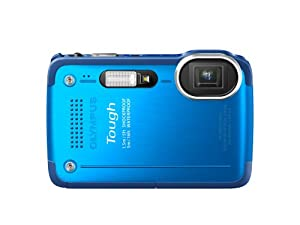 Olympus Stylus TG-630 iHS Digital Camera with 5x Optical Zoom and 3-Inch LCD (Blue)