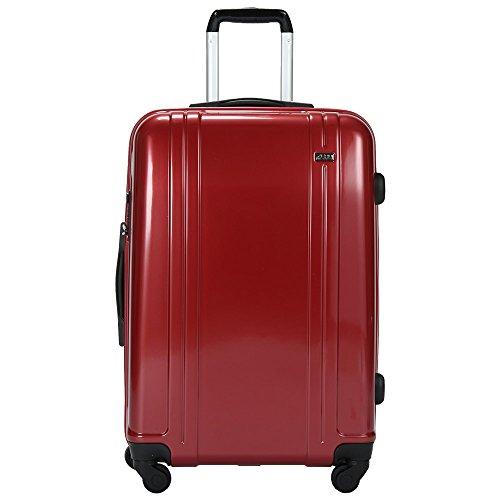 ZERO Halliburton ゼロハリバートン Zero Whirl ゼロ ワール 24インチ 4輪 軽量 スーツケース Red レッド ZW224-RD スーツケース並行輸入品