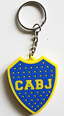 Boca Juniors Argentina Futbol Football Soccer Rubber Key Chain Keychain