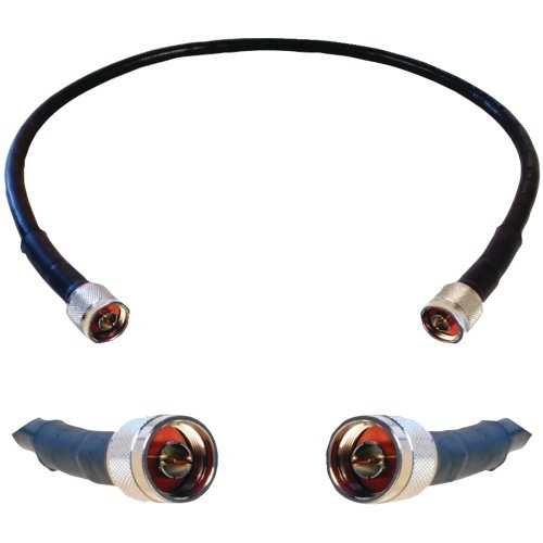 Wilson Electronics 952302 2-Foot WILSON400 Ultra Low Loss Coax Cable with N Male Connectors