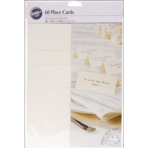 Wilton Ivory Place Cards (Seating Place Cards compare prices)