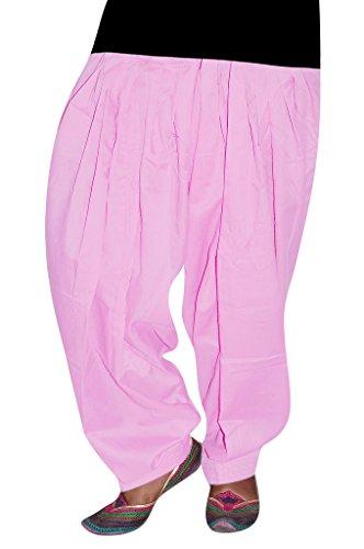 Bansal Collection Women's Patialas (Light Pink_Free Size)
