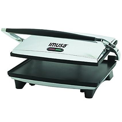 Imusa GAU-80102 Panini and Sandwich Maker