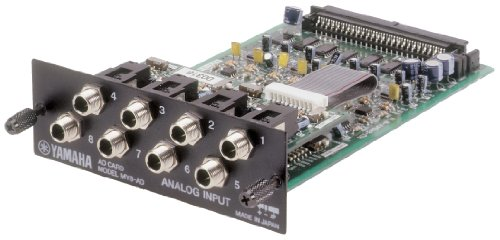 Yamaha 8 Ch Analog Interface Card For 01V/Aw4416/Aw2816