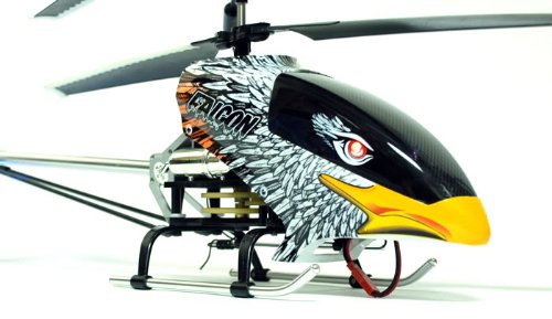 Eagle LED 3CH RC Helicopter Radio Remote Control 26  Electric Falcon Heli with Metal Ski  sc 1 st  heli canopy - WordPress.com & Heli Canopy | HELI CANOPY