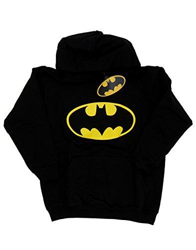 DC Comics Bambini e ragazzi Batman Logo Felpa con cappuccio 9-11 Years Nero