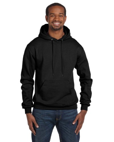 Champion Double Dry Men`s Action Fleece Pullover Hood nero Medium