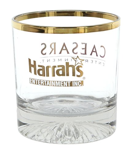 set-of-4-limited-edition-whiskey-glasses-commemorating-harrahs-and-caesars-2005-merger