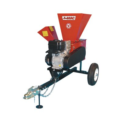 Merry-Mac-Highway-Towable-ChipperShredder-249cc-Briggs-Stratton-Intek-OHV-Engine-3-12in-Capacity-Model-12PHT1100M