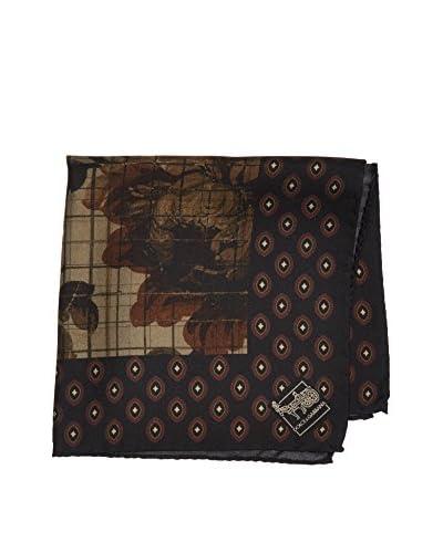 ZZ_Dolce & Gabbana Pañuelo Seda Negro