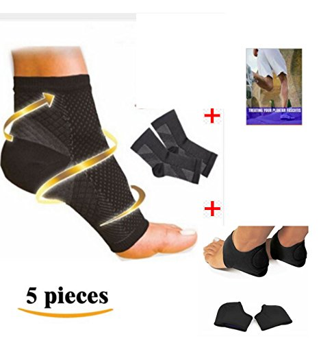 dr-kellys-plantar-fasciitis-arch-support-compression-sock-foot-sleeve-kit-w-ebook