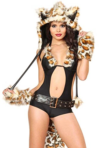 3WISHES 'Sexy Lil Leopard Costume' Hottest Animal Halloween Costumes for Women