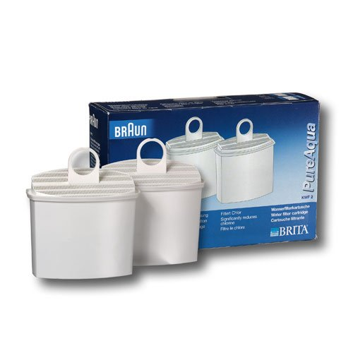 Braun KWF2 Water Filter, 2 filters per package (Braun Coffeemaker Kf600 compare prices)