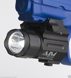 Compact Pistol Flash Light 150 LUMEN by AIM