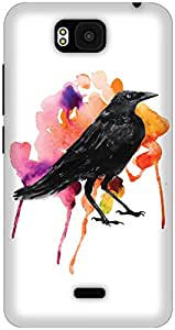 The Racoon Lean The Crow's Colours hard plastic printed back case / cover for Huawei Honor Bee