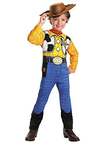 Disney Toy Story Toddler & Little Boys Woody Costume & Cowboy Hat