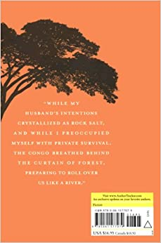 a review of the novel the poisonwood bible I don't know why it took me so long to pick up this book, but i'm so glad i finally did the poisonwood bible by barbara kingsolver is the story of a baptist missionary family who travels to the congo to convert the congolese people.